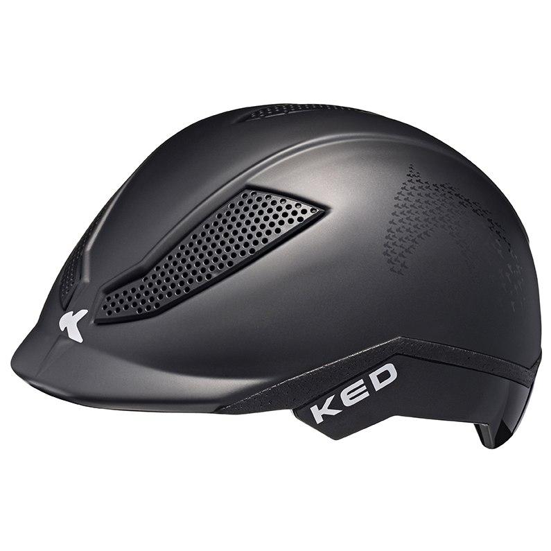 KED Pina Cycle & Ride Helmet - black matt script
