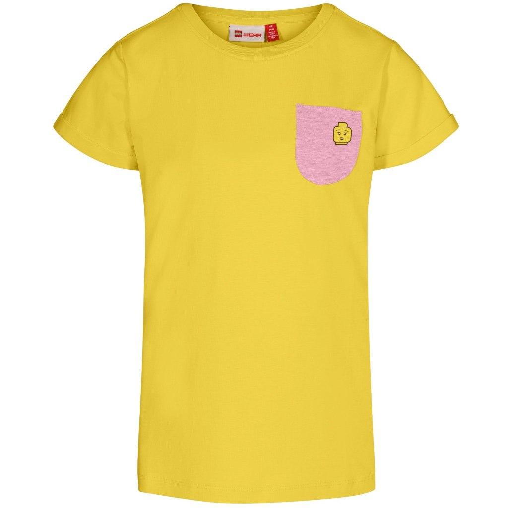 LEGO Wear Tone 301 Mädchen T-Shirt - yellow