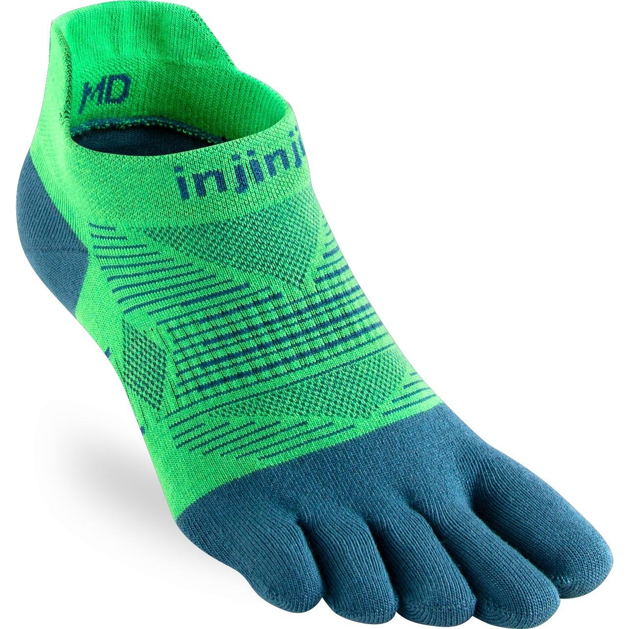 Produktbild von Injinji Run Lightweight No-Show Socken - isla