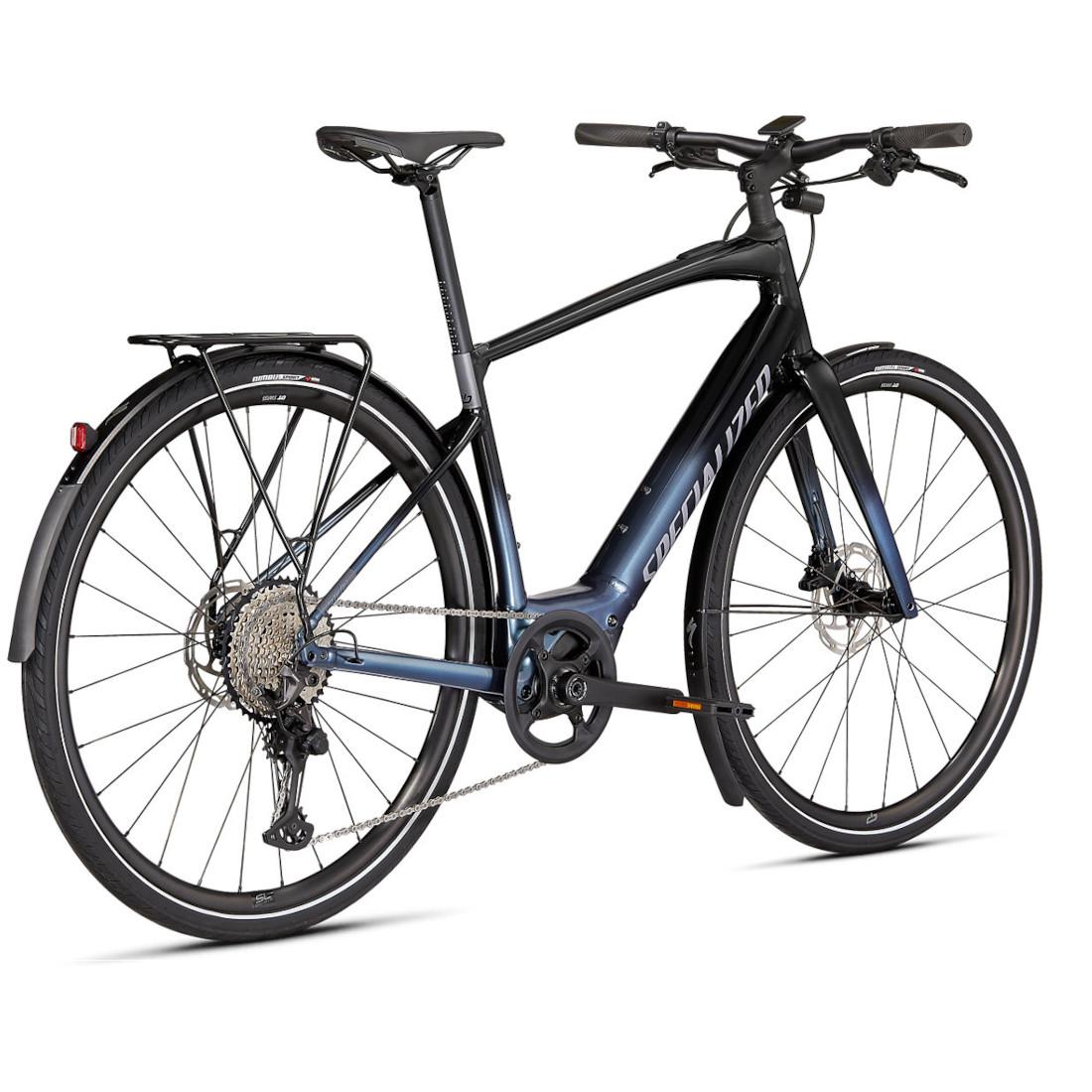 Image of Specialized TURBO VADO SL 5.0 EQ E-Bike - 2022 - brushed aluminum / black reflective