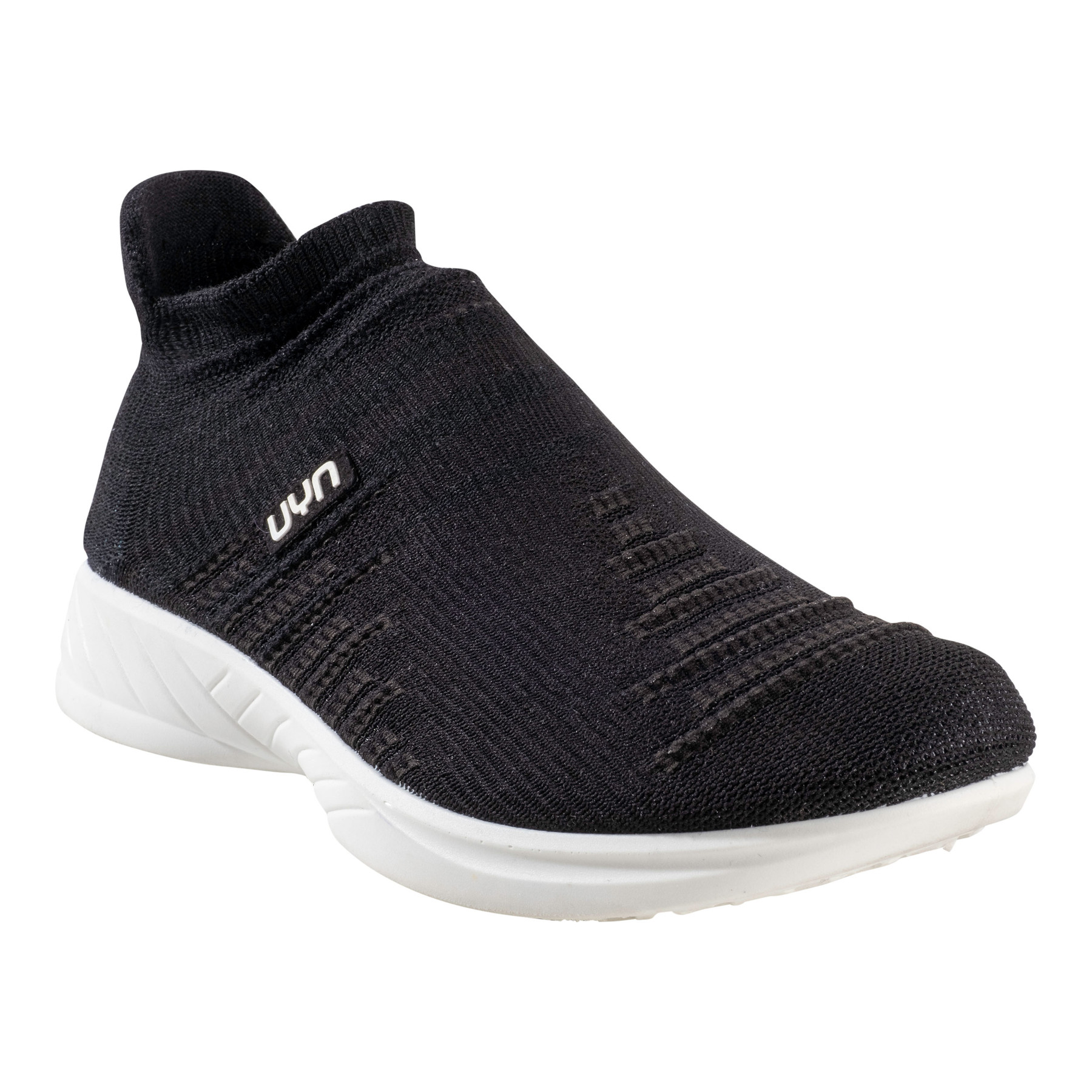 UYN X-Cross Lady Running Shoes - Optical Black/Black