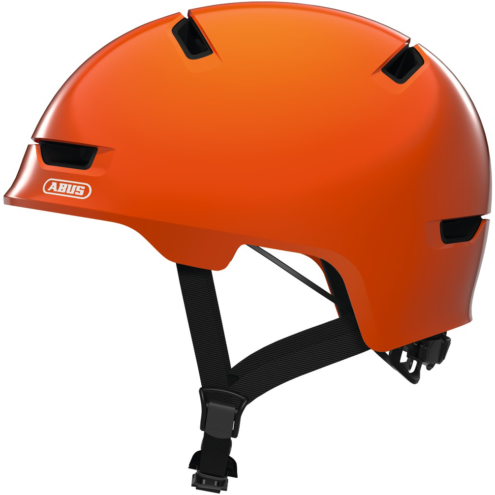 ABUS Scraper 3.0 Kid - Casco de niños - shiny orange