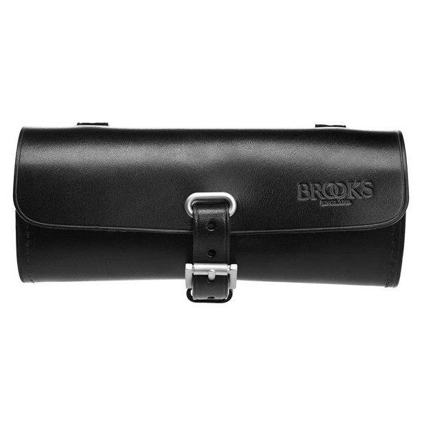 Brooks Challenge Tool Bag Bend Leather Saddle Bag - black