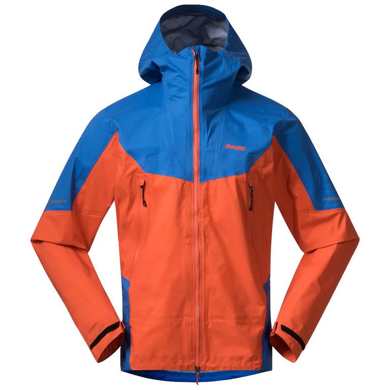 Bergans Senja 3L Jacket - bright magma/strong blue