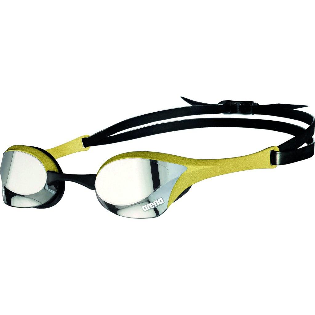 arena Cobra Ultra Swipe Mirror Silver/Gold Swimming Goggle