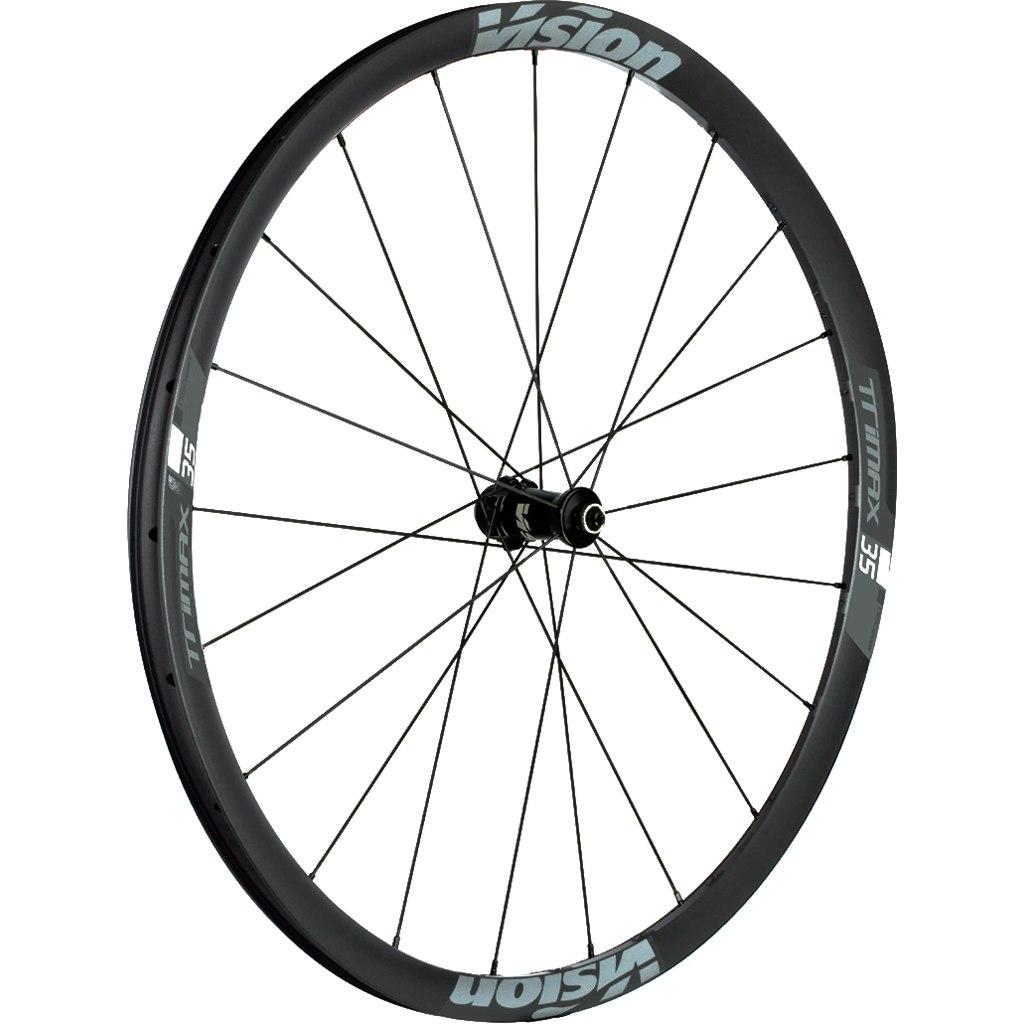 Bild von Vision TriMax 35 Disc Laufradsatz - Tubeless Ready - Drahtreifen - Centerlock - Schnellspanner - Shimano HG