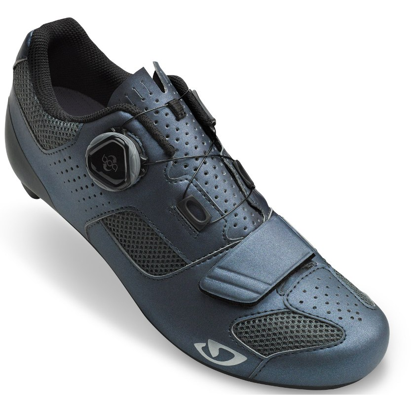 Giro Espada Boa Women Road Shoe 2020 - metallic charcoal/silver