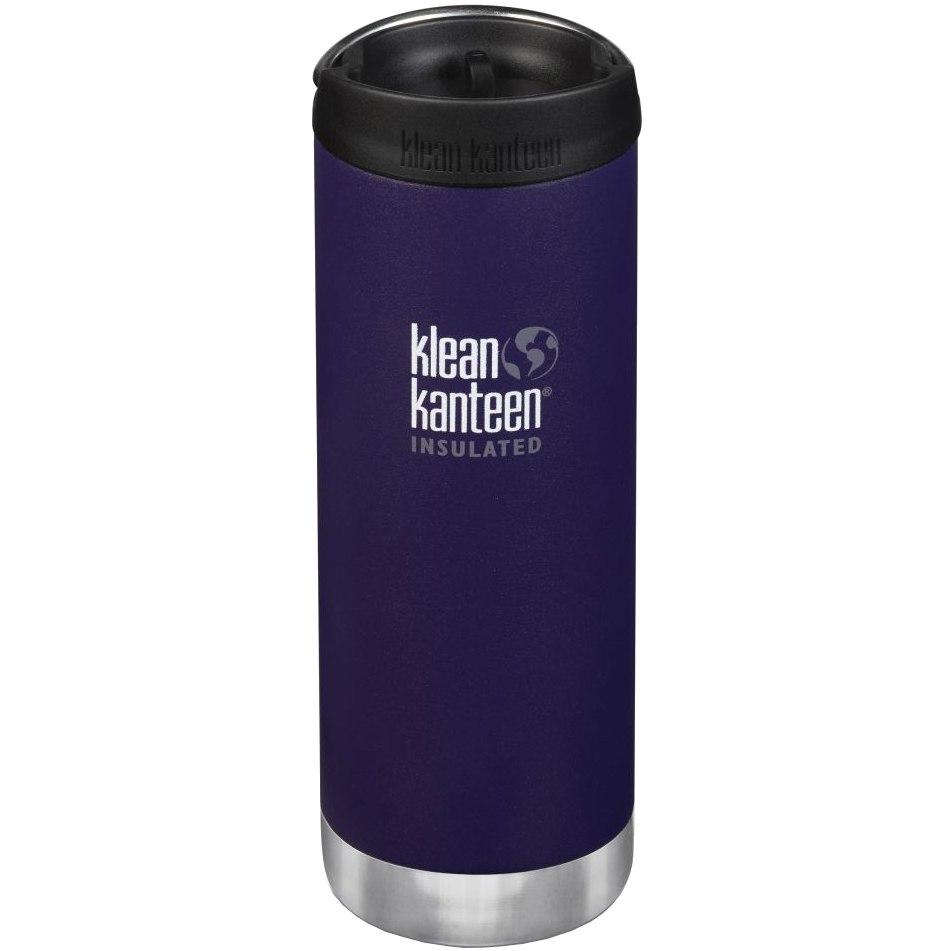 Klean Kanteen 473ml TKWide Vacuum Insulated Flask with Café Cap - kalamata (matte)