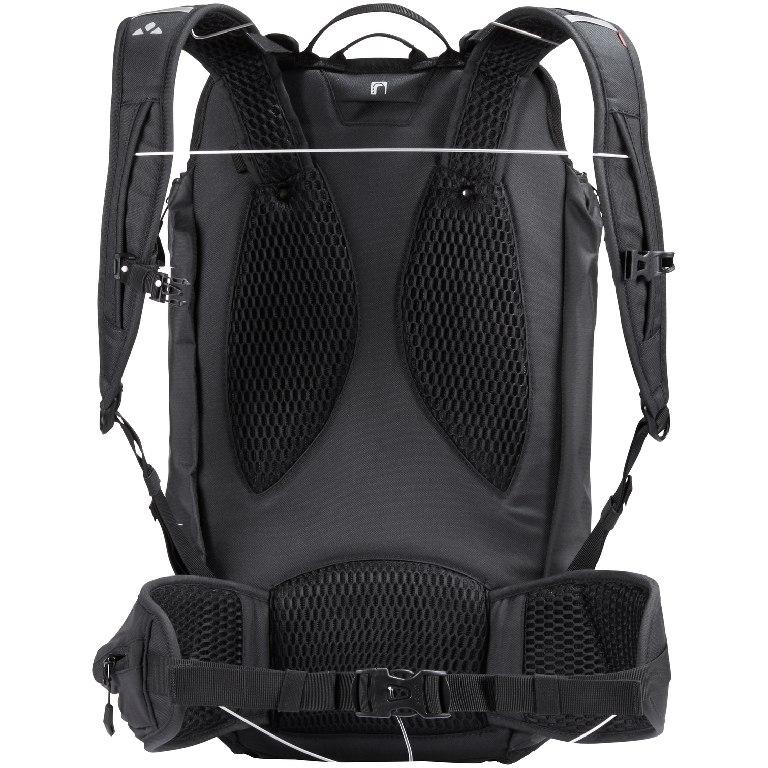 Bild von Vaude Trailpack Bikepacking Rucksack - schwarz uni