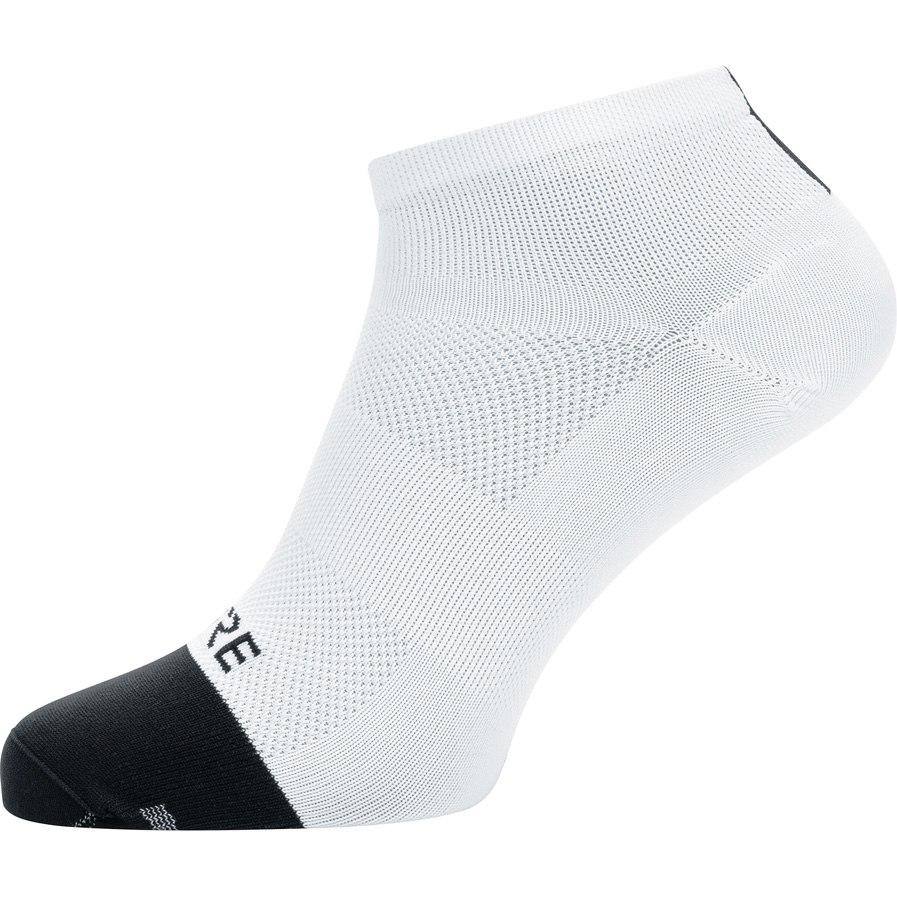 GORE Wear M Light Short Socks - white/black 0199