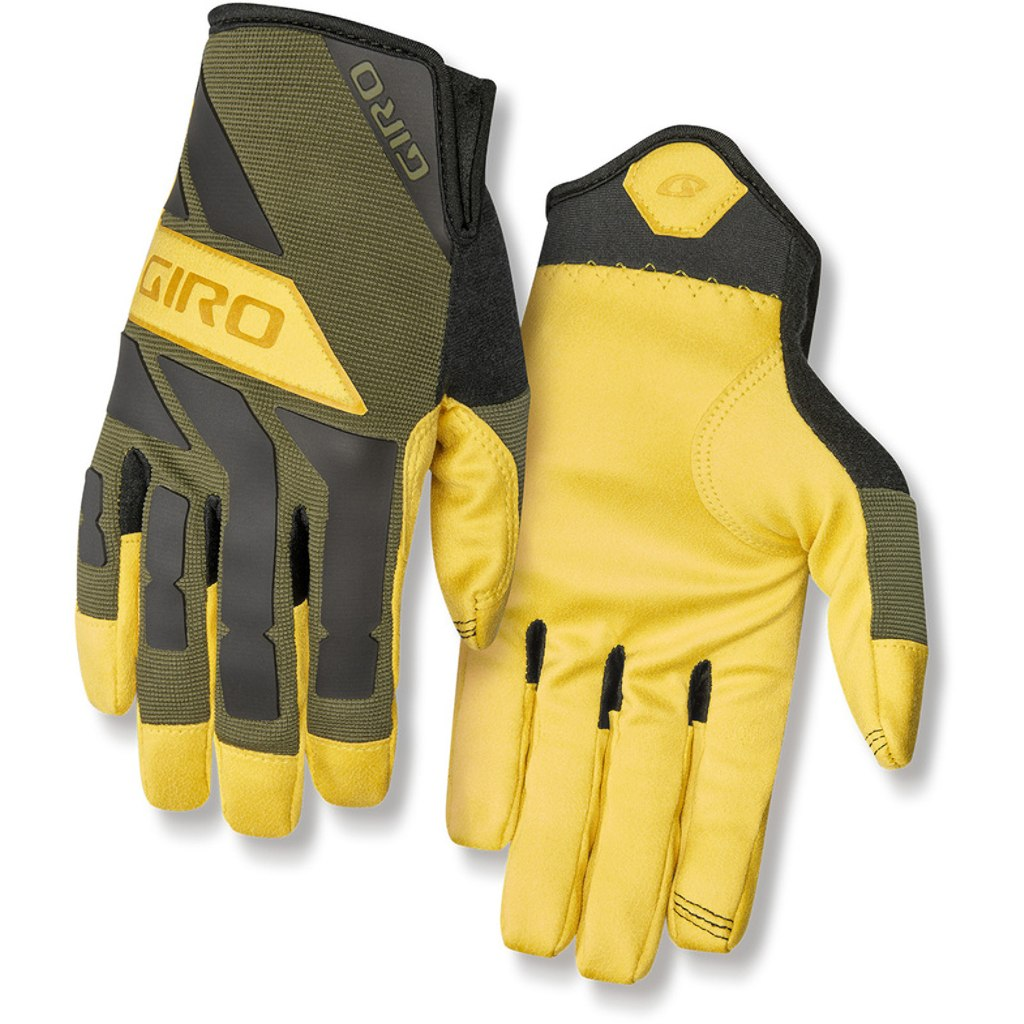 Giro Trail Builder Handschuhe - olive/buckskin