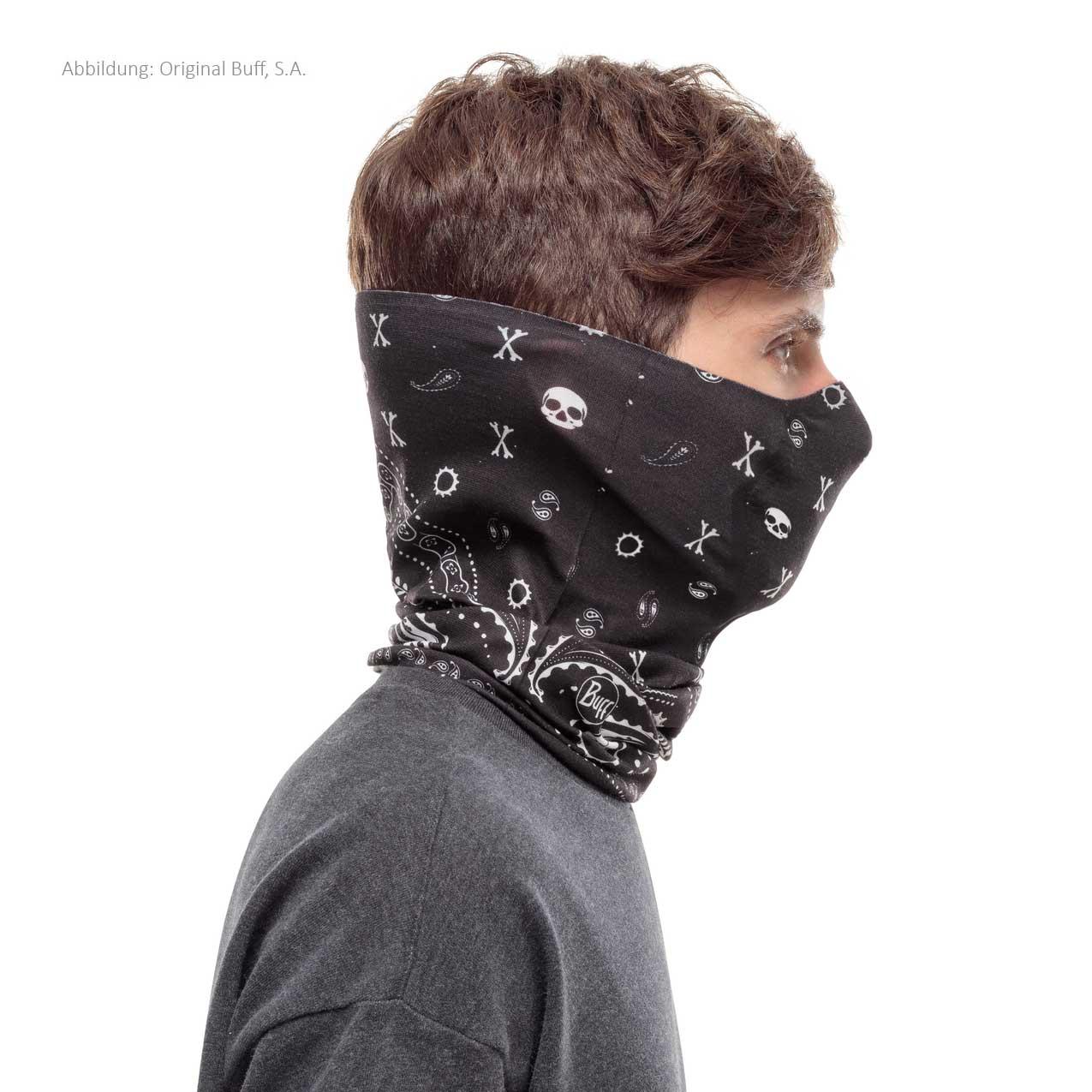 Image of Buff® Filter Tube Facial Mask - M-Cashmere Black