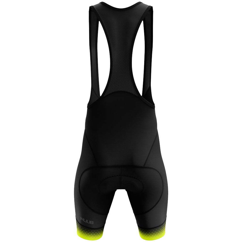 Bild von HUUB Design Core 3 Trägerhose - schwarz/fluo gelb