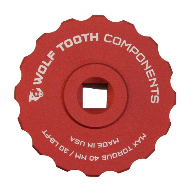Wolf Tooth Innenlager Steckschlüssel für Shimano Hollowtech II - BBS4416 - 16 Zähne - 44mm