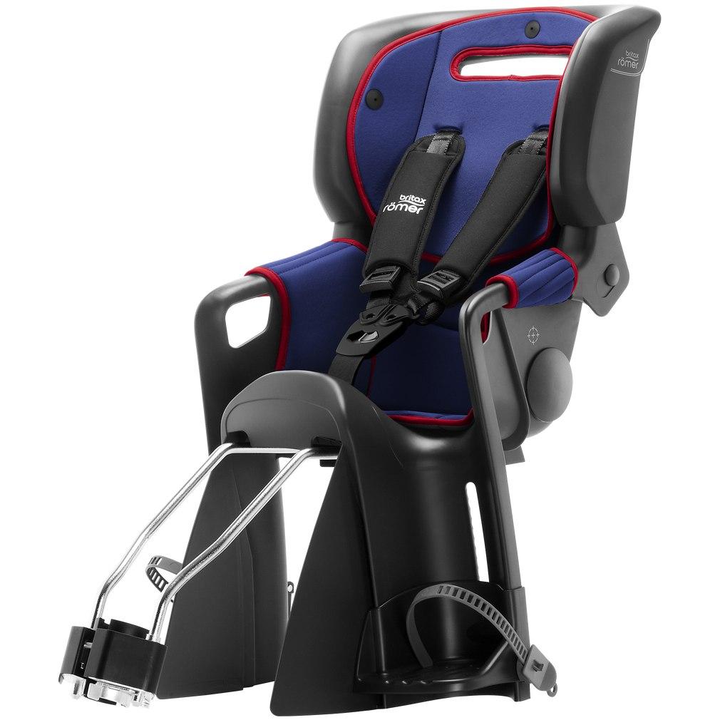 Image of Britax Römer Jockey³ Comfort Child Bike Seat - blue/red