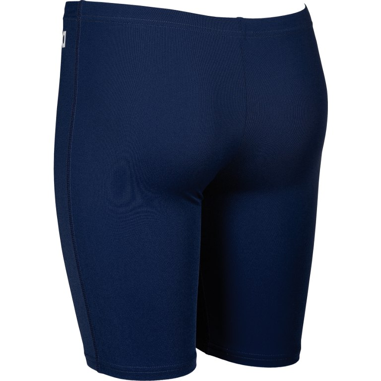 Image of arena Solid JR Boys Jammer - navy/white