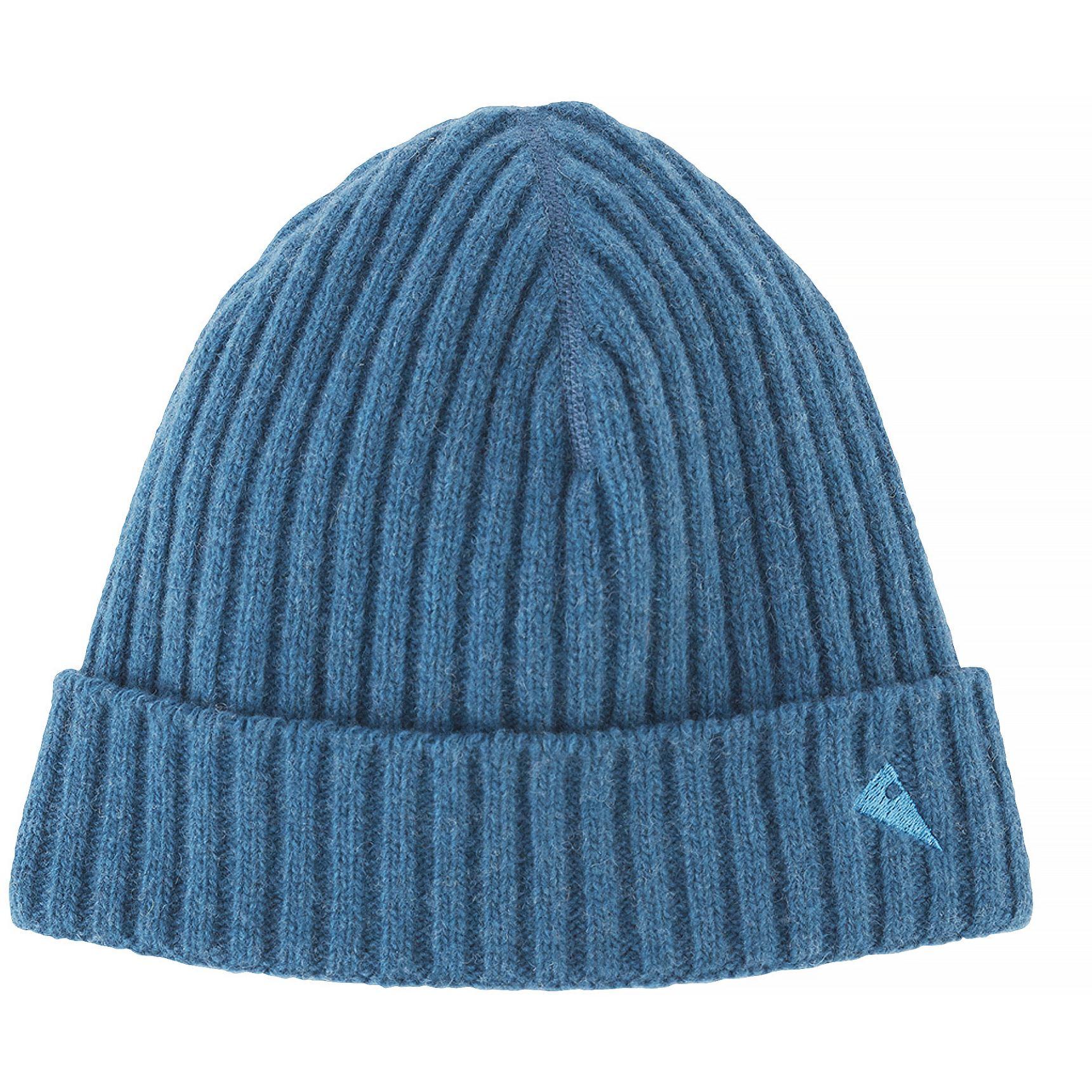 Picture of Klättermusen Barre Ribbed Cap - Blue Sapphire
