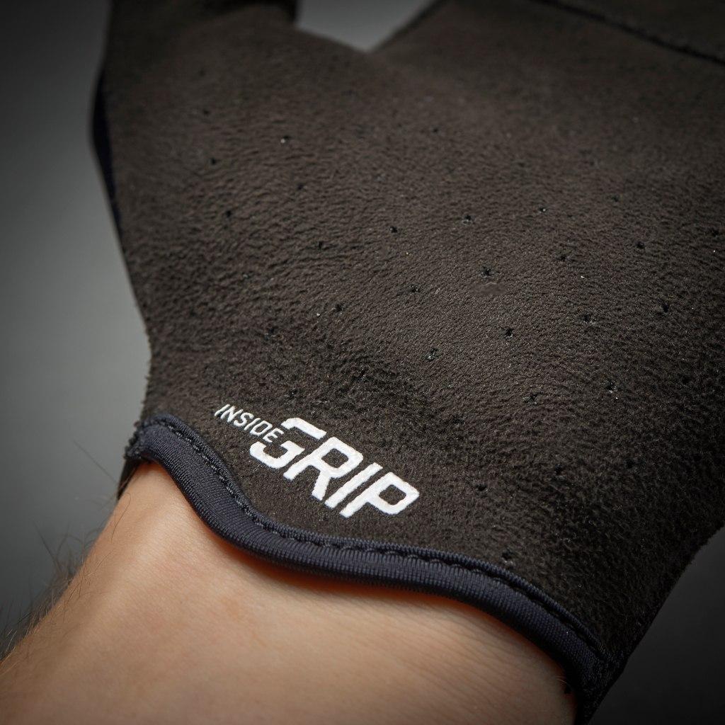 Image of GripGrab Aerolite InsideGrip™ Short Finger Glove - Navy Blue