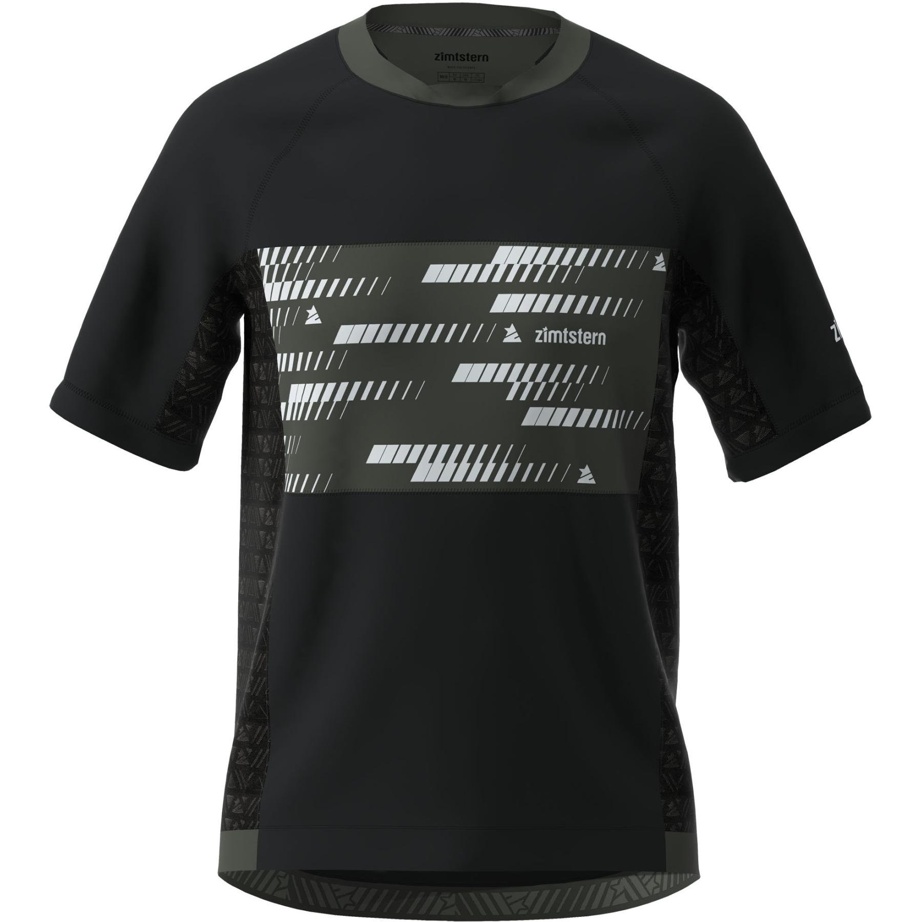 Zimtstern TechZonez Kurzarm-Shirt - pirate black/gun metal