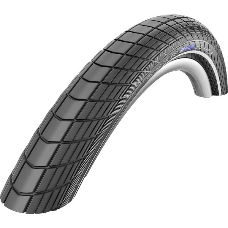 Picture of Schwalbe Big Apple Active Wired Tire - 14x2.0 Inches - Black-Reflex