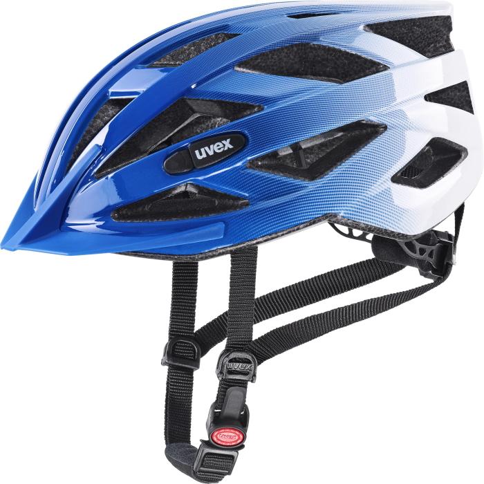 Uvex air wing Helmet - cobalt - white