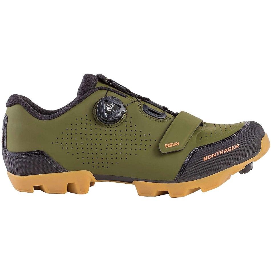 Image of Bontrager Foray Mountain Shoe - olive grey