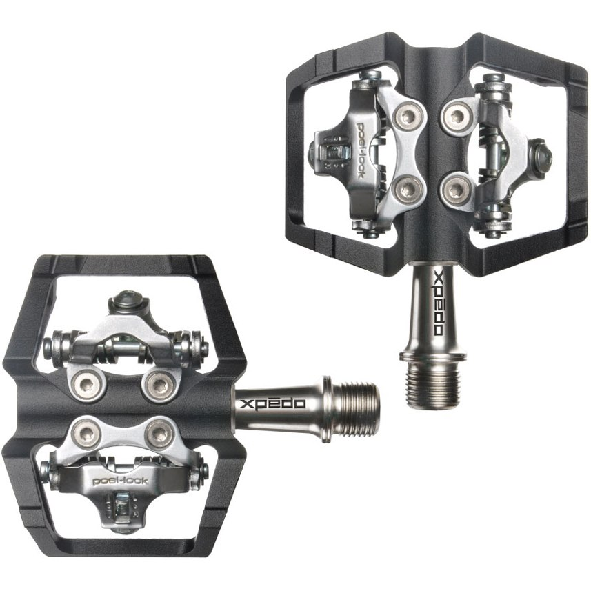 Xpedo Baldwin Pedal - schwarz