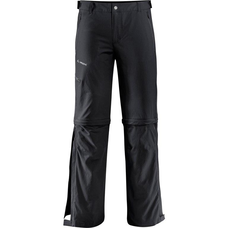 Vaude Men's Farley Stretch T-Zip Pants II - black