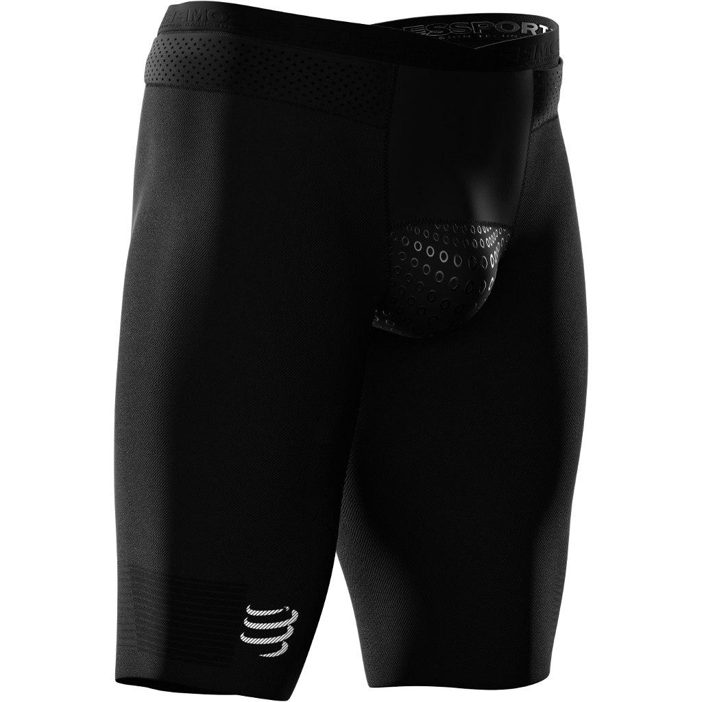 Compressport Triathlon Under Control Short - black