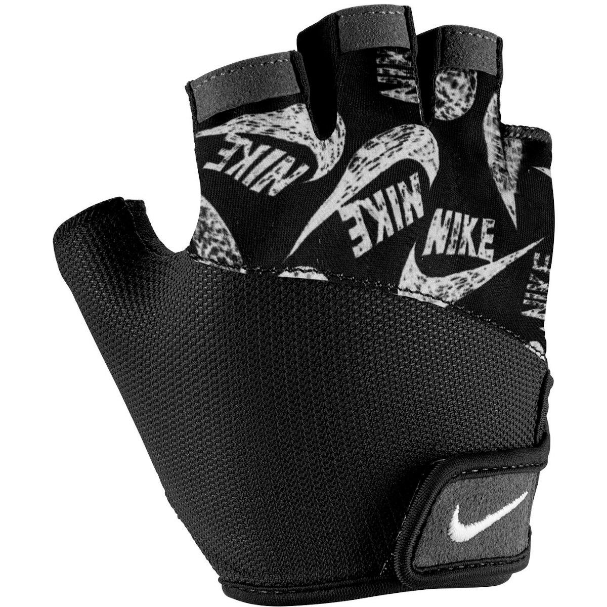Foto de Nike Women's Printed Gym Elemental Fitness Gloves - black/black/white 981