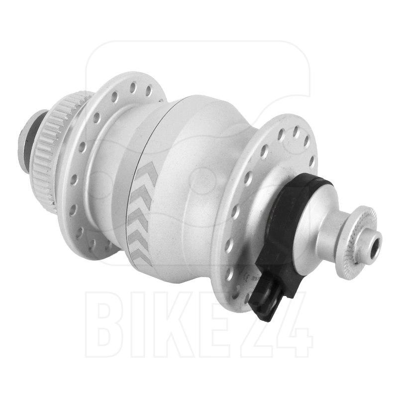 Shutter Precision Ultraslim SL-9 Hub Dynamo - Centerlock - QR - silver