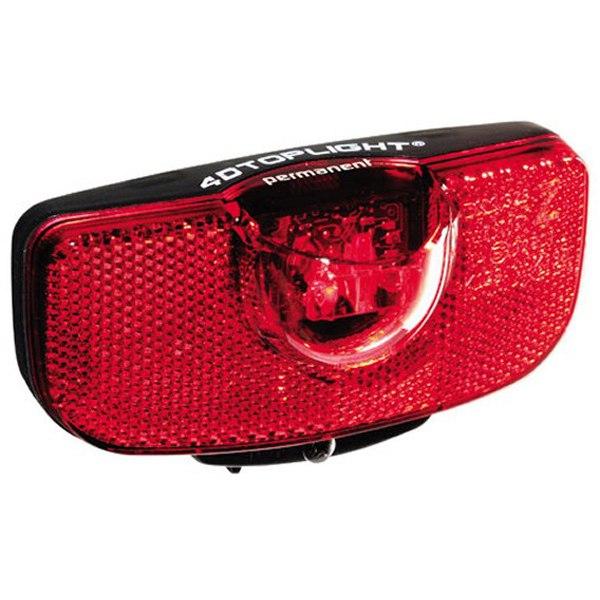 Busch + Müller 4D-Toplight Permanent LED Rear Light - 328B4