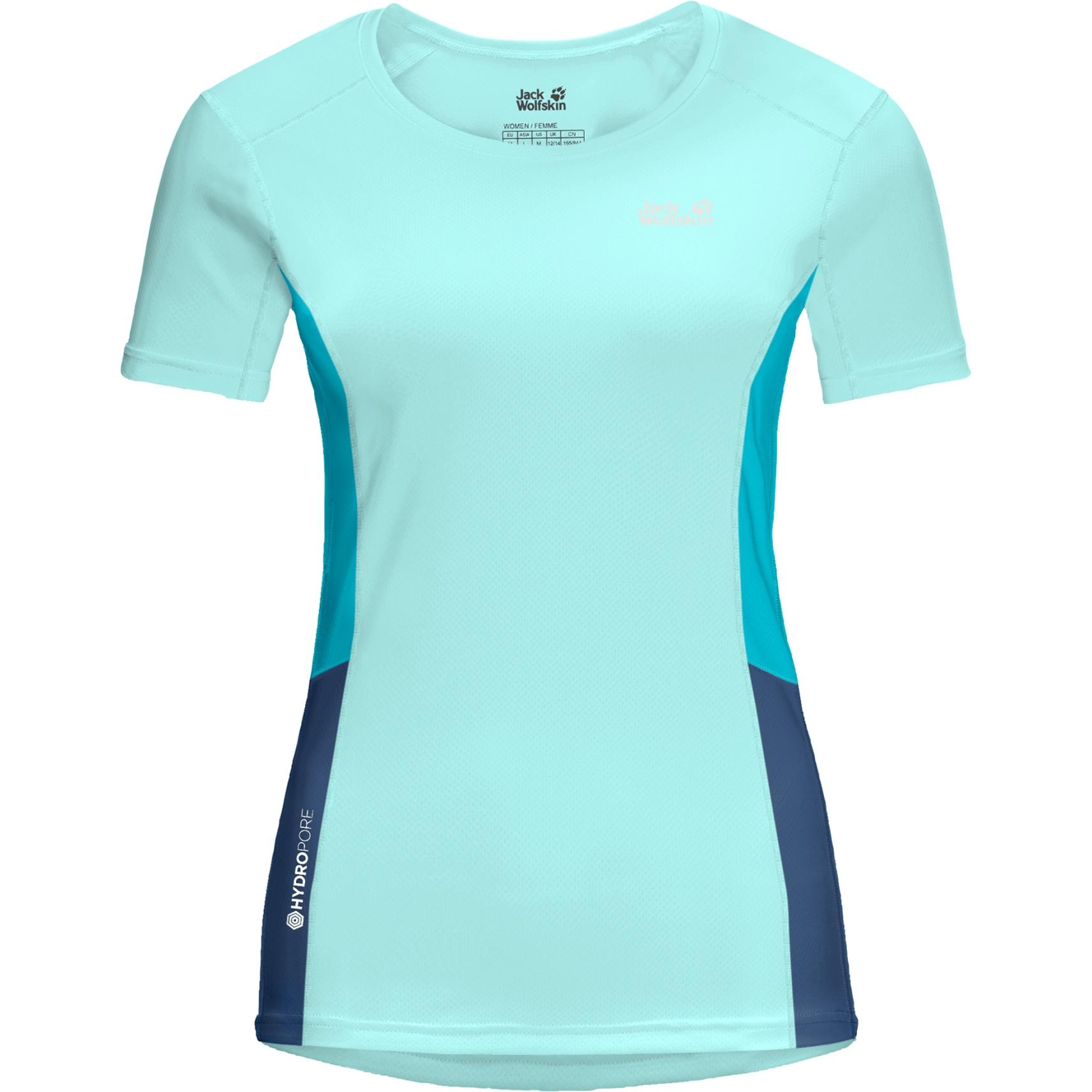 Jack Wolfskin Narrows Damen T-Shirt - powder blue