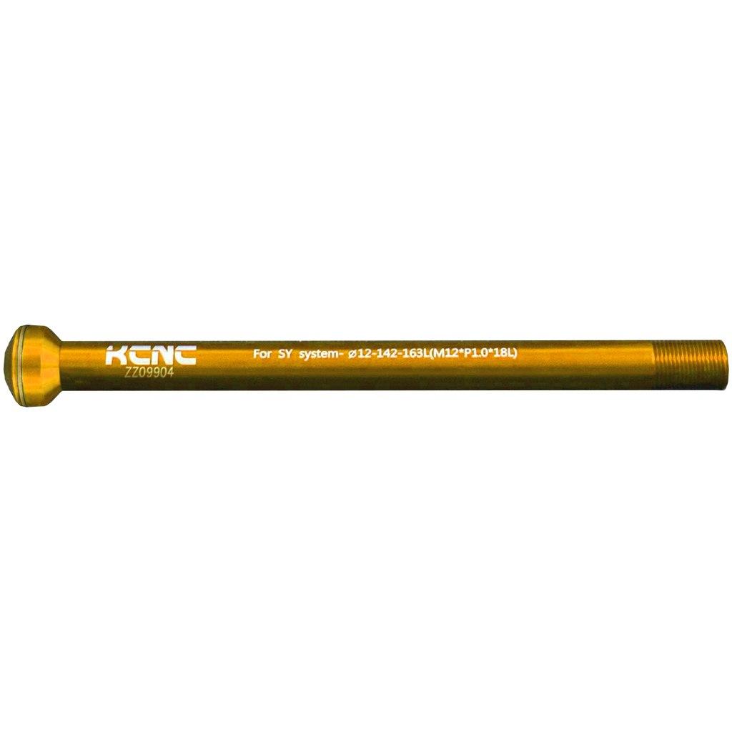 KCNC Thru Axle KQR08 - 12x142mm - 6061AL - gold