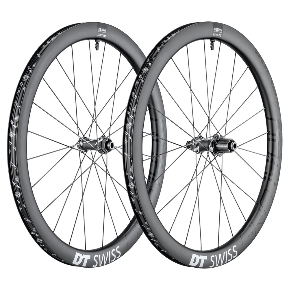 "DT Swiss GRC 1400 Spline Carbon 42 - 27.5"" Wheelset - Clincher - Centerlock / 6-Bolt - FW: 12/15x100mm/QR | RW: 12x142mm/QR"
