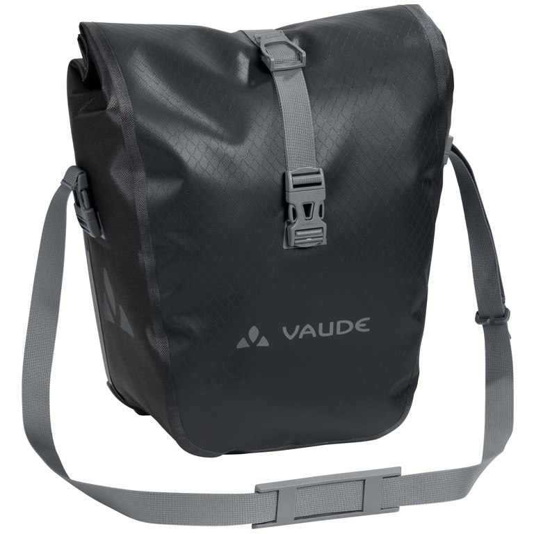 Vaude Aqua Front Bike Pannier (Pair) - black