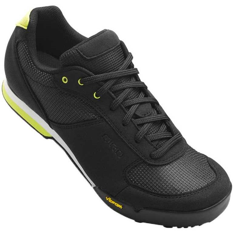 Giro Petra VR MTB Shoes Women - black/wild lime