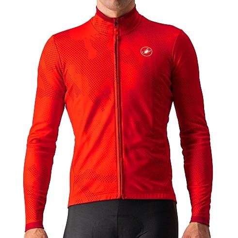 Produktbild von Castelli Pericolo Jersey FZ - rot