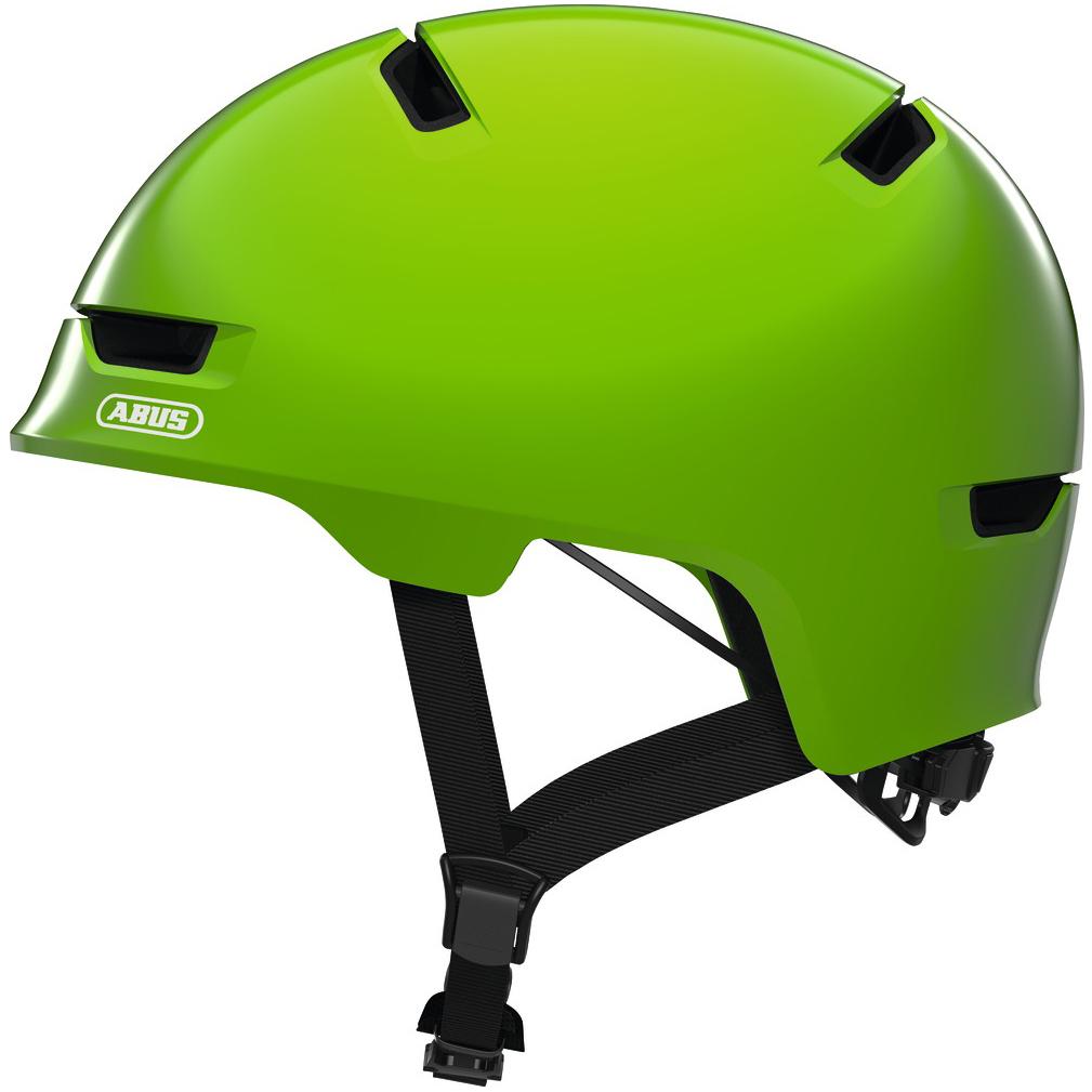 ABUS Scraper 3.0 Kid - Casco de niños - shiny green