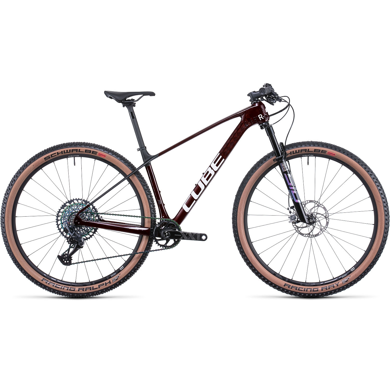 CUBE ELITE C:68X Race - 29 Pulgadas Bicicleta de Montaña de Carbono - 2022 - liquidred/carbon A00
