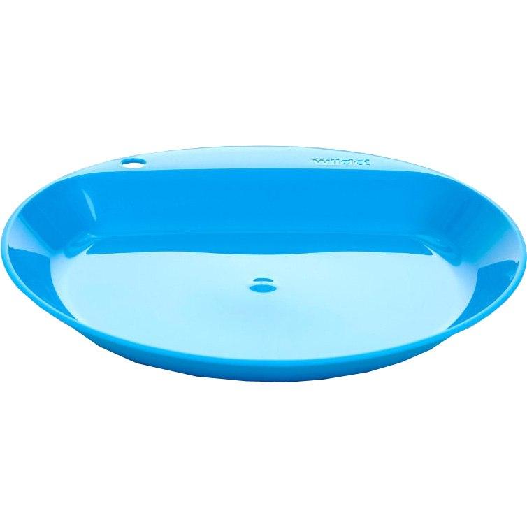 Wildo Flacher Teller - light blue