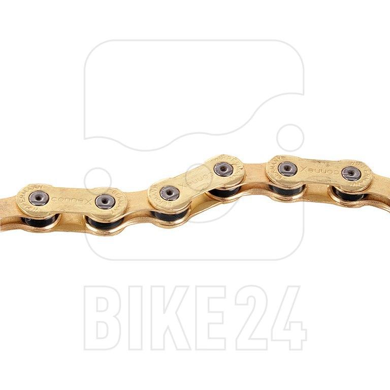 Bild von Wippermann conneX Fahrradkette 10sG (Gold) 10-fach
