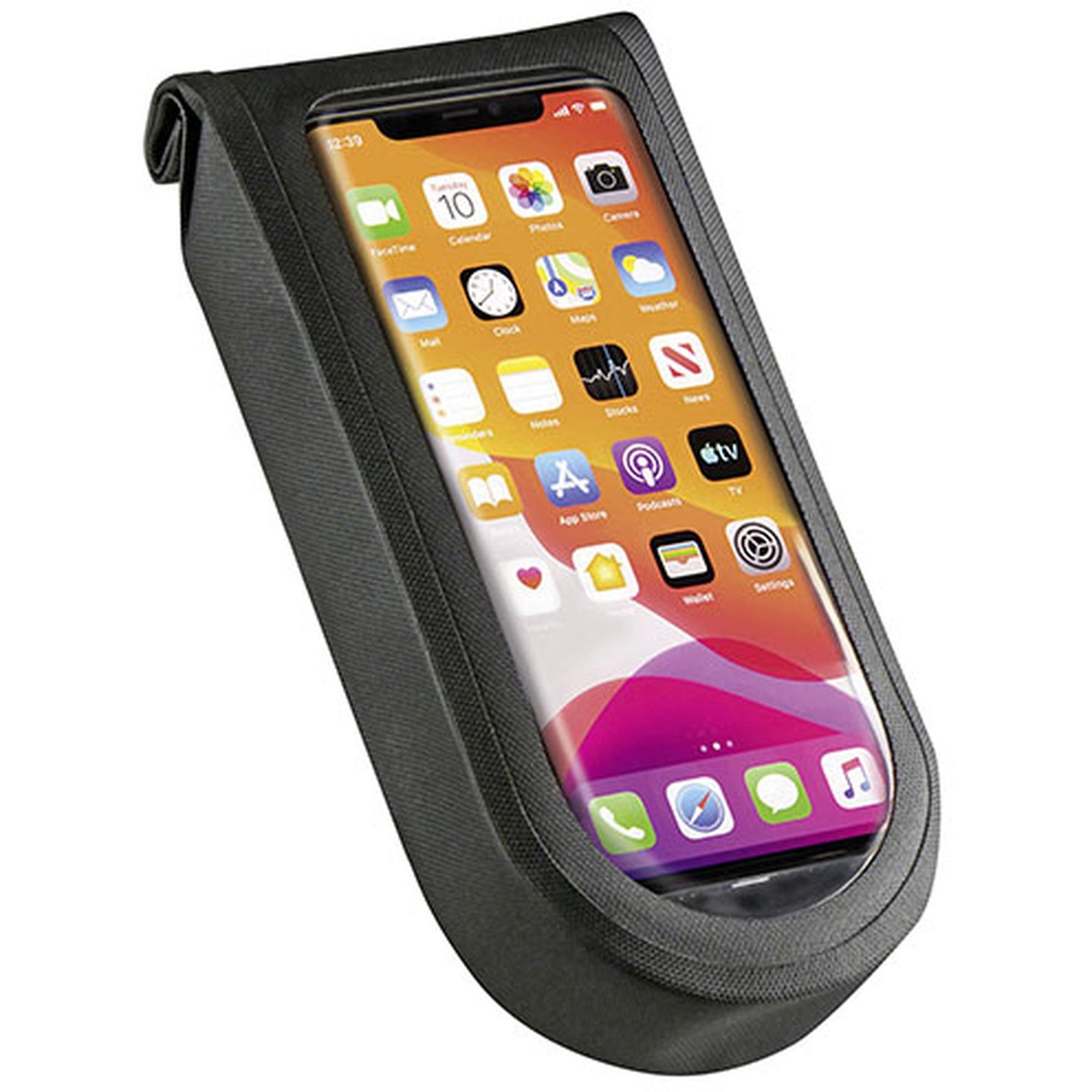 KLICKfix PhoneBag Tour M Smartphone Handlebar Bag - black