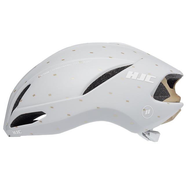 HJC Furion 2.0 Helmet - matt off white/gold