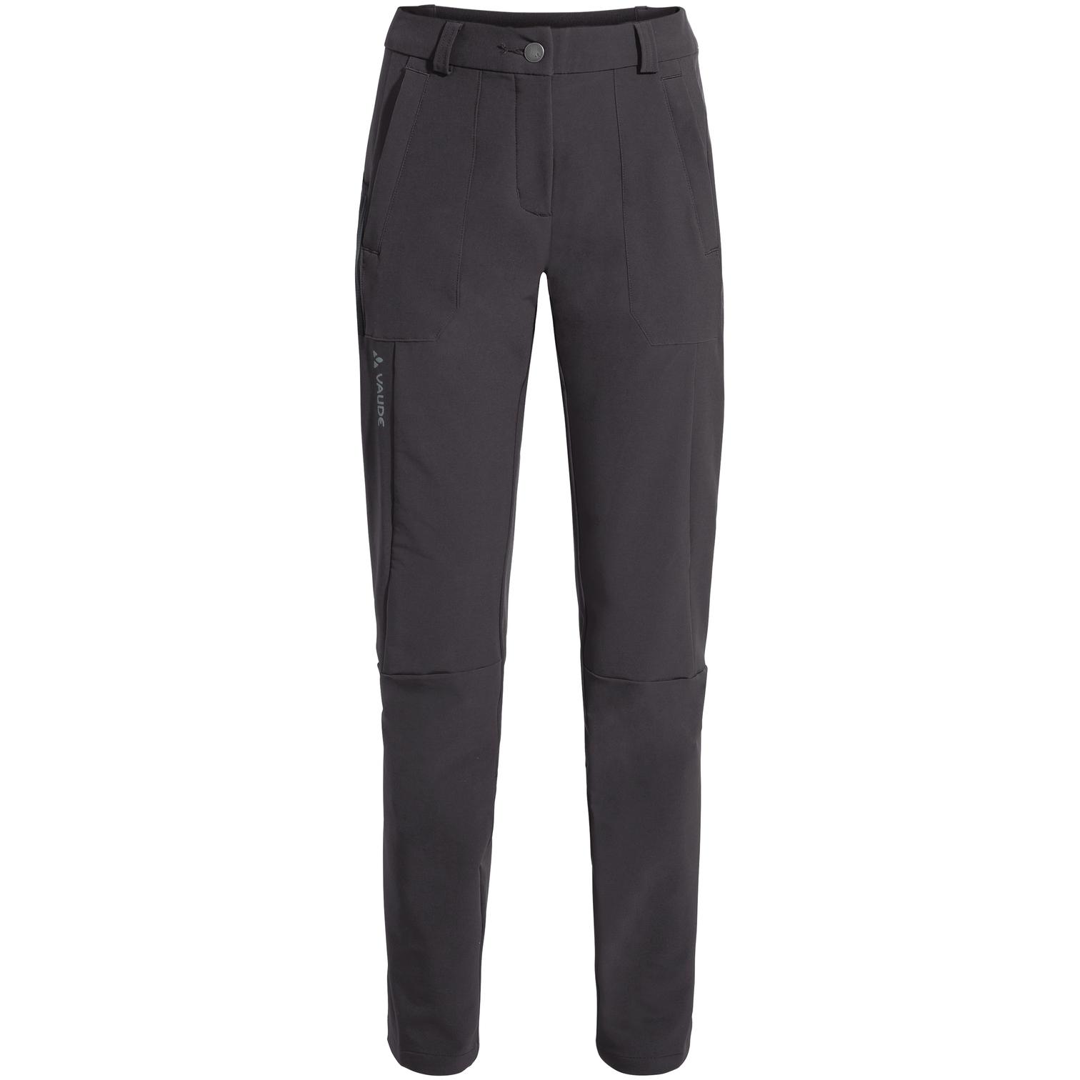 Vaude Women's Elope Slim Fit Pants - phantom black