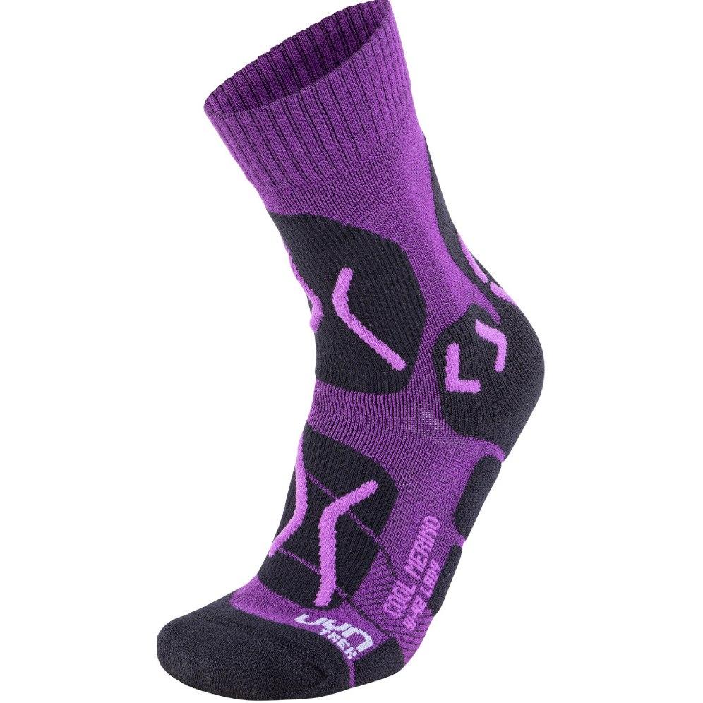 UYN Trekking Cool Merino Socken Damen - Violet/Lilac