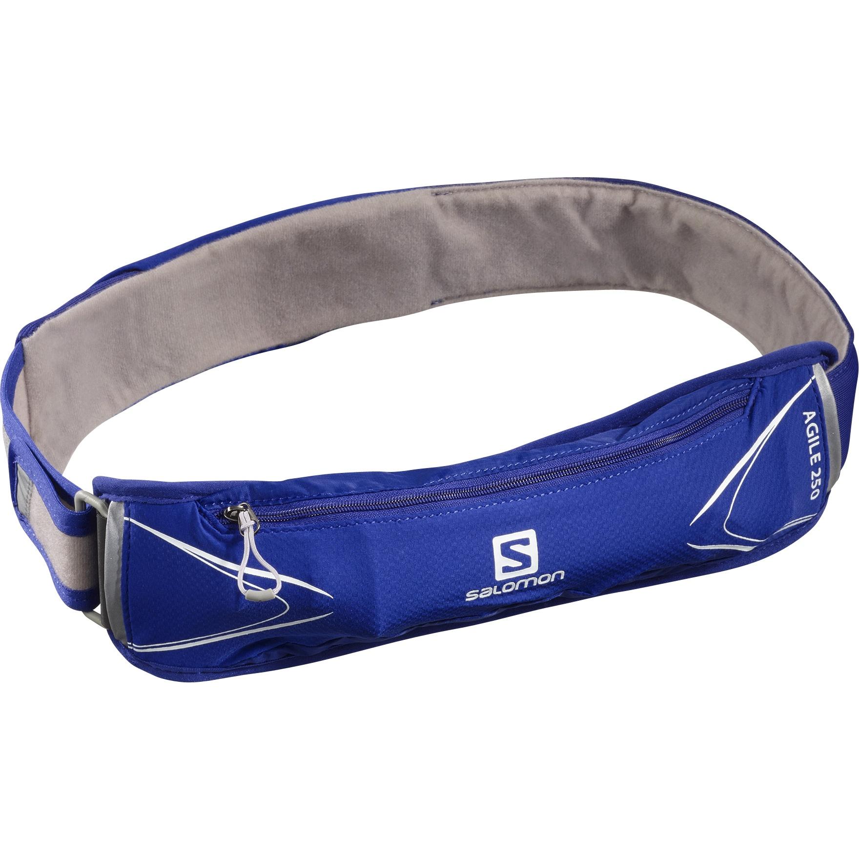 Picture of Salomon Agile 250 Belt Set Hydration Belt - Clematis Blue