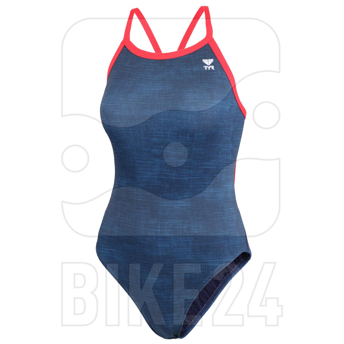 Produktbild von TYR Sandblasted Diamondfit Damen Badeanzug - navy