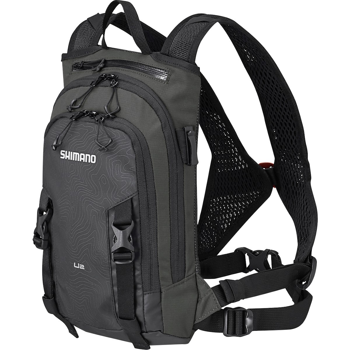 Picture of Shimano Unzen 2 Liter Daypack + 2L Hydration Bladder - black