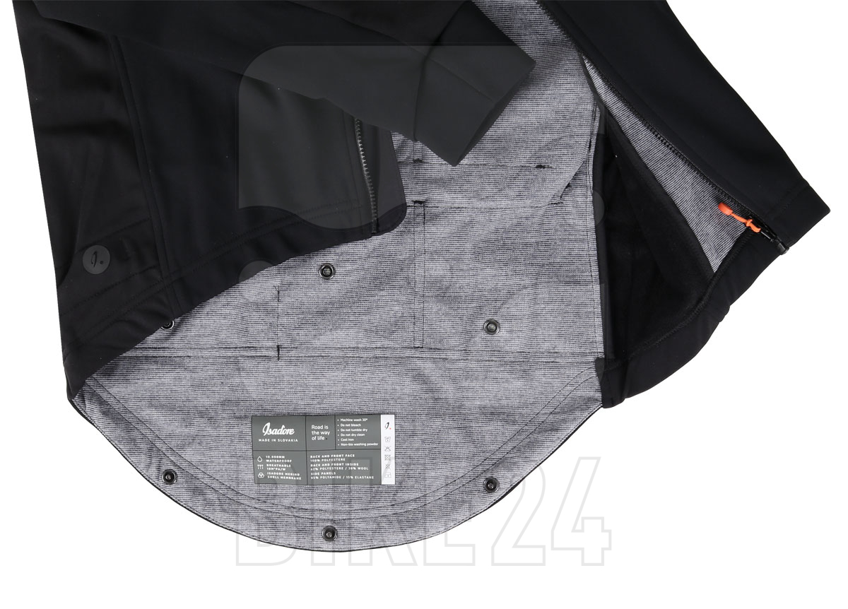 Bild von Isadore Merino Membrane Softshell Jacke x OSRAM - Black